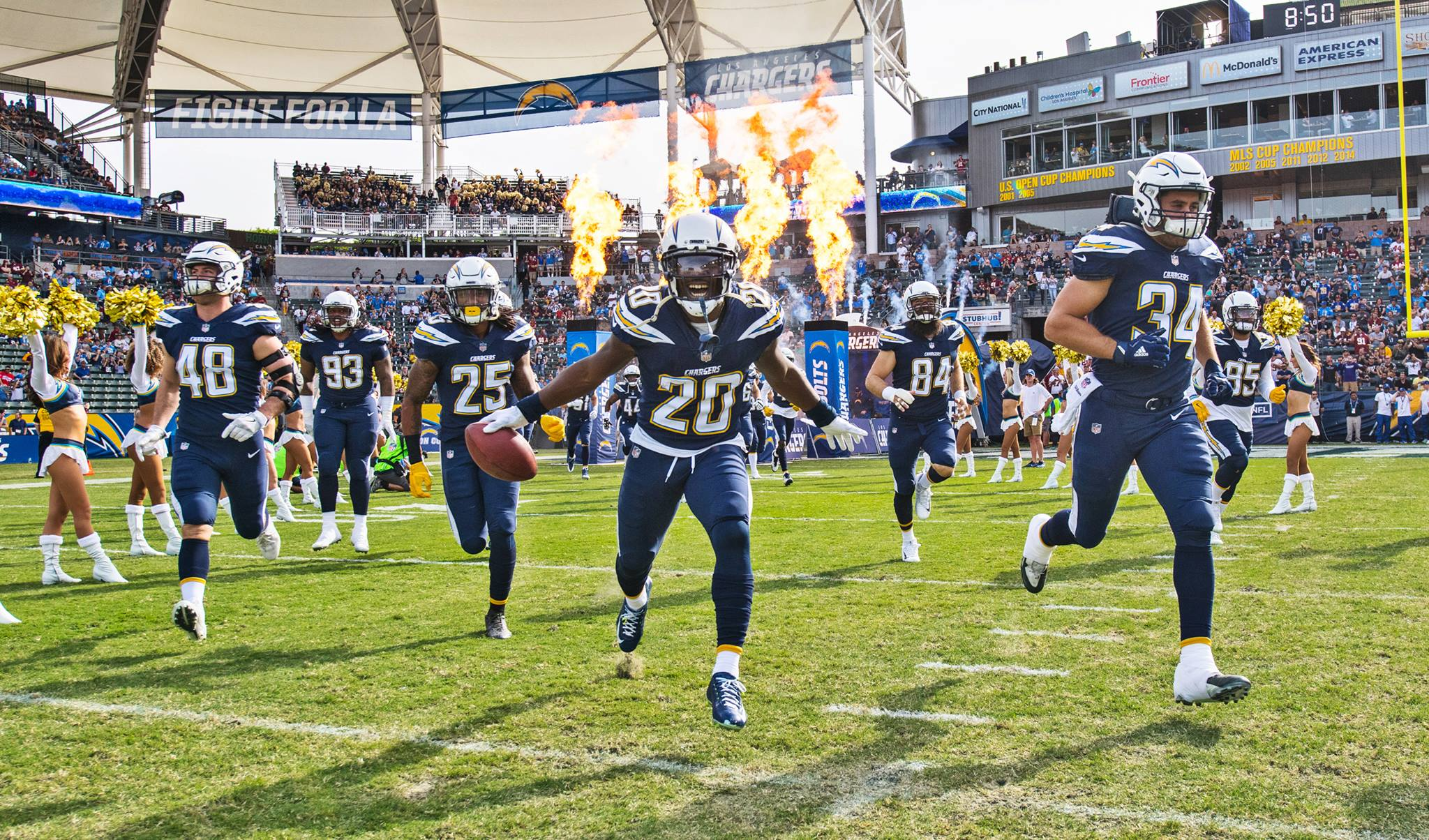 58f23d85 The Los Angeles Chargers: A Lesson in Disappointment - Watch FANTOM