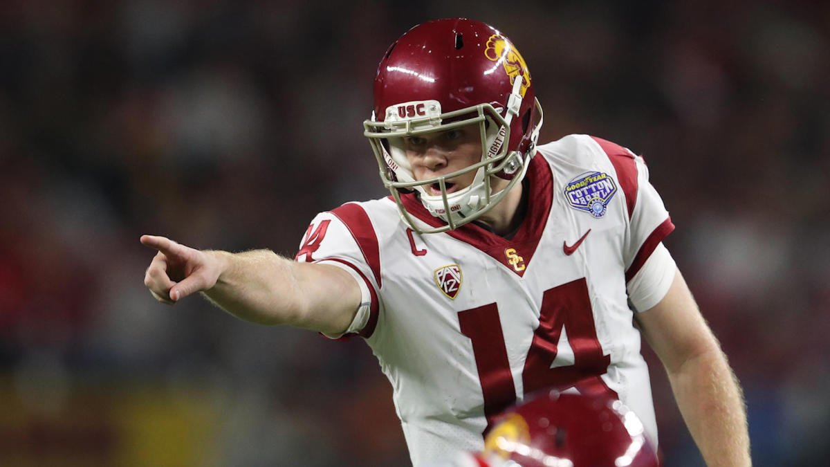 8b757eb5cb That is  Darnold is a USC quarterback. Sure